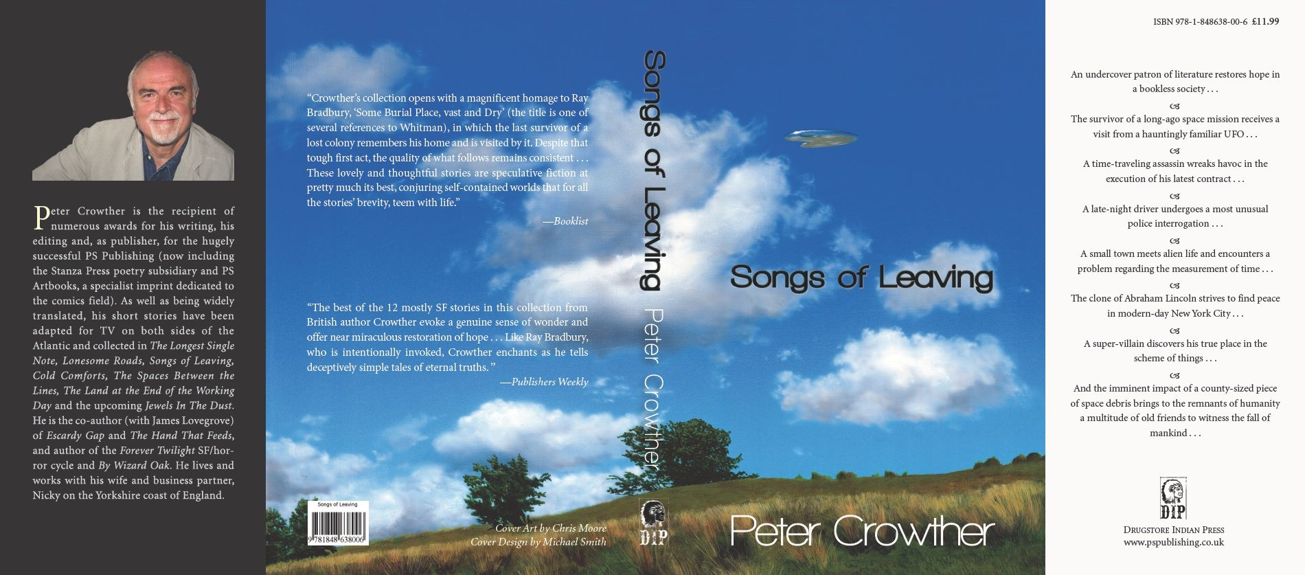 Songs of Leaving Trade Paperback by Peter Crowther